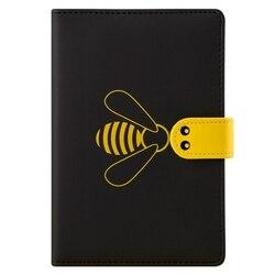2020 Agenda Planner Organizer B6 pamiętnik miesięczny notatnik i dziennik śliczna pszczoła tygodniowy siatka zeszyt Travel School Handbook
