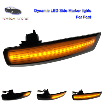 led dynamic direction indicator lamps side marker turn signal lights for Ford Focus MK2 Focus 2 Focus MK3 Focus 3 Mondeo MK4 mikado focus 3 серебро 00h