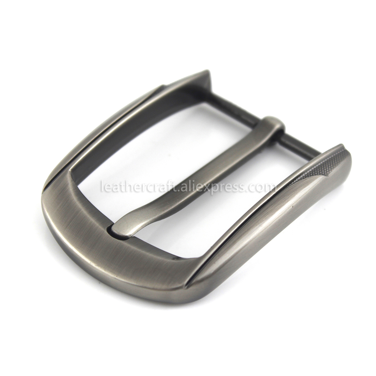 1x 40mm Metal Belt Buckle Center Bar Single Pin Buckle Men 39 s Fashion Belt Buckle fit 37 39mm Belt Leather Craft Accessories in Buckles amp Hooks from Home amp Garden