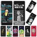 Забавный чехол для телефона Comie Morty Rick, чехол для Samsung galaxy S 7 8 9 10 20 edge A 6 10 20 30 50 51 70 note 10 plus