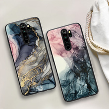 Watercolor-Painted-Case Marble Note-9 Redmi For Xiaomi Note-9/8-pro/9s/.. Soft-Ink-Brush