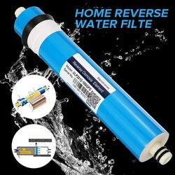 Домашний 100 GPD RO мембрана обратного осмоса замена системы очистки воды фильтр очистки воды фильтрация уменьшает бактерии кухня