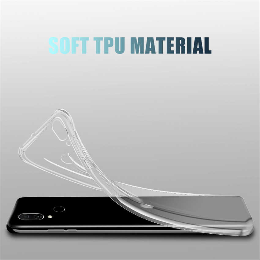 Soft Clear Case For Huawei honor 8 9 10 Lite 8X 8A 8C 9X 9i 20i View 20 V10 V9 Play Note 10 Magic 2 Transparent Silicone Coque