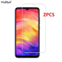 2PCS Protective Glass For Xiaomi Redmi 7A 8A Note 7 Screen Protector Tempered Glass For Xiaomi Redmi Note 8 Pro Glass Phone Film