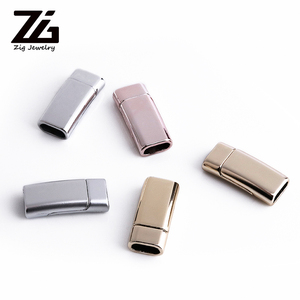 ZG rectangular strong magnetic buckle bracelet DIY making homemade jewelry accessories bracelet button connector(China)