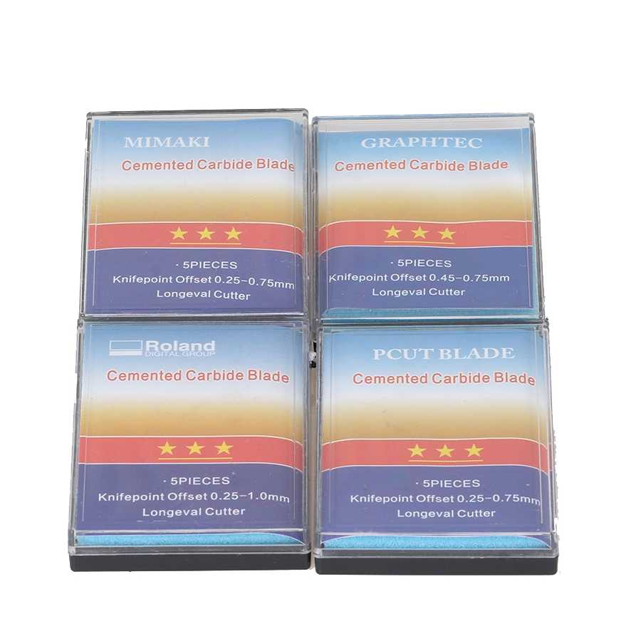 5PCS 30 או 45 או 60 תואר ויניל חותך רולנד, Pcut, Mimaki, graphtec חיתוך הקושר להב באיכות גבוהה