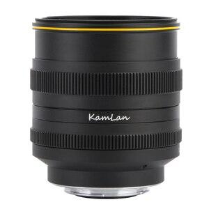 Image 3 - Kamlan 50มม.F1.1IIขนาดใหญ่โฟกัสAPS C MirrorlessสำหรับCanonM Sony E Fuji X M43 Mountกล้อง
