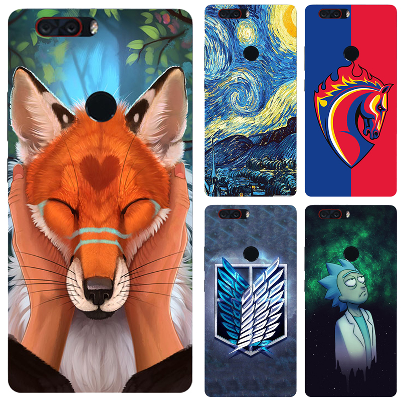 Painted <font><b>Case</b></font> For ZTE <font><b>Nubia</b></font> <font><b>Z17</b></font> <font><b>Mini</b></font> <font><b>Case</b></font> Silicone Soft TPU <font><b>Cases</b></font> For ZTE <font><b>Nubia</b></font> Z 17/Z 17 <font><b>Mini</b></font> Cover Wildflowers Animal Bags image