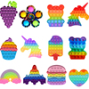 Game Handle Fidget Toys Pack Its Square Antistress New Push Bubble Rainbow Pop For Hands Squishy Reliver Stress For Kids ��������������