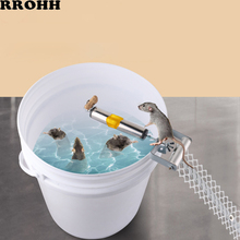 Upgraded Auto Mouse Traps Household Pest Mice Control Rodent Bait Killer Stainless Steel Rolling Stick Rat Catcher Mousetrap