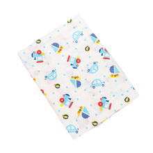 Muslin Swaddle Blankets 100% Cotton Animal Pattern Baby Swaddle Wraps Soft Play Mat Infant Kids Receiving Blanket Stoller Cover