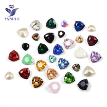 YANRUO 4706 Super Quality Stones and Crystals Sew On Claw Strass Pointback Craft Crystal For Clothes Decoration