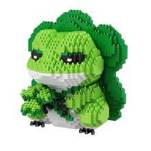 hot LegoINGlys creators Japan Cartoon Game Pattern Pictures Travel Frog mini Micro Diamond Building Block model nano bricks toys
