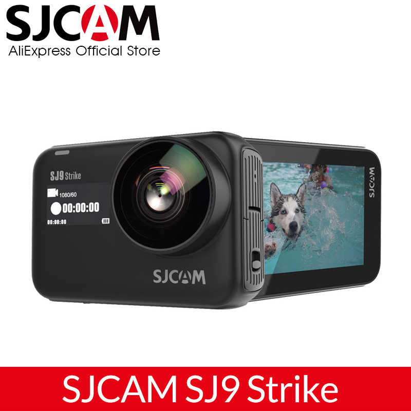 SJCAM SJ9 Strike Supersmooth Gyro/Eis Tubuh Tahan Air 4K Action Camera Nirkabel Pengisian Live Streaming 2.4G Wifi olahraga Kamera