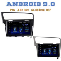 PX6 10.2 IPS screen for VW golf 7 2013 2014 2015 2016 2017 Android 9.0 Car GPS Radio Player 4+64GB Auto Stereo Multimedia