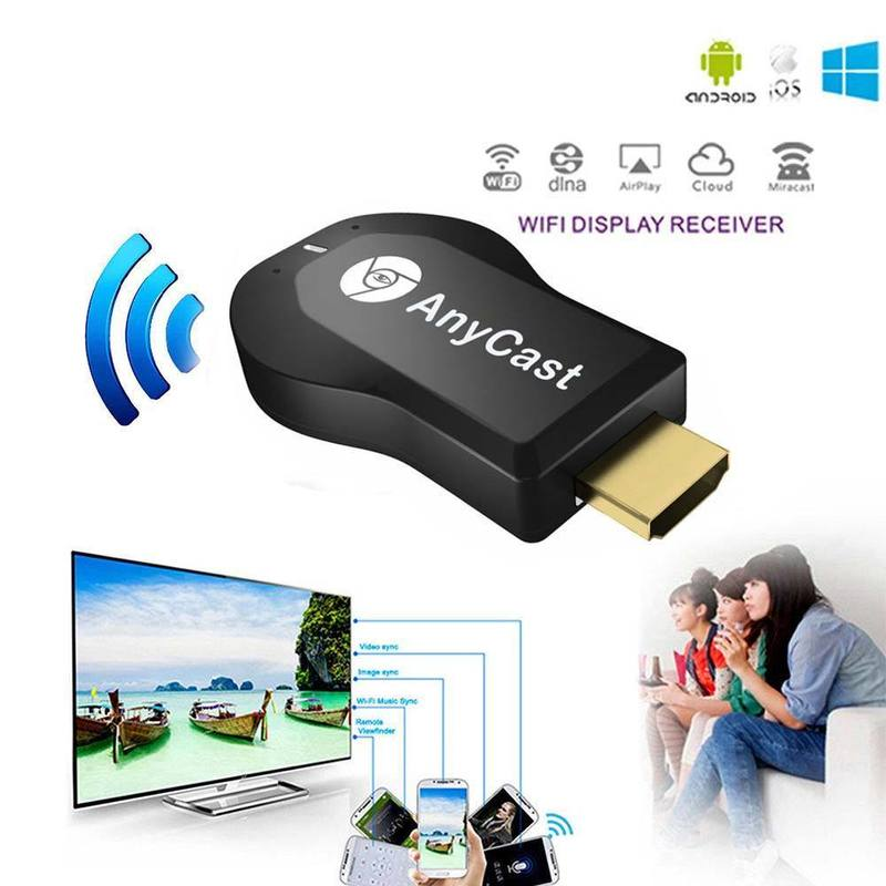Dongle-Receiver Stick-Wifi-Display TV Mirror Hdmi Airplay Any-Cast Android Wireless M2 title=