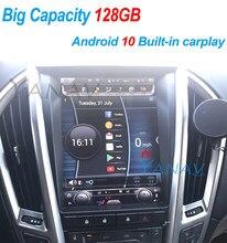 128G Android 10 Tesla Stil Vertikale Bildschirm Navigation Auto Multimedia Radio Player Für Cadillac SRX 2010-2012 gebaut in carplay