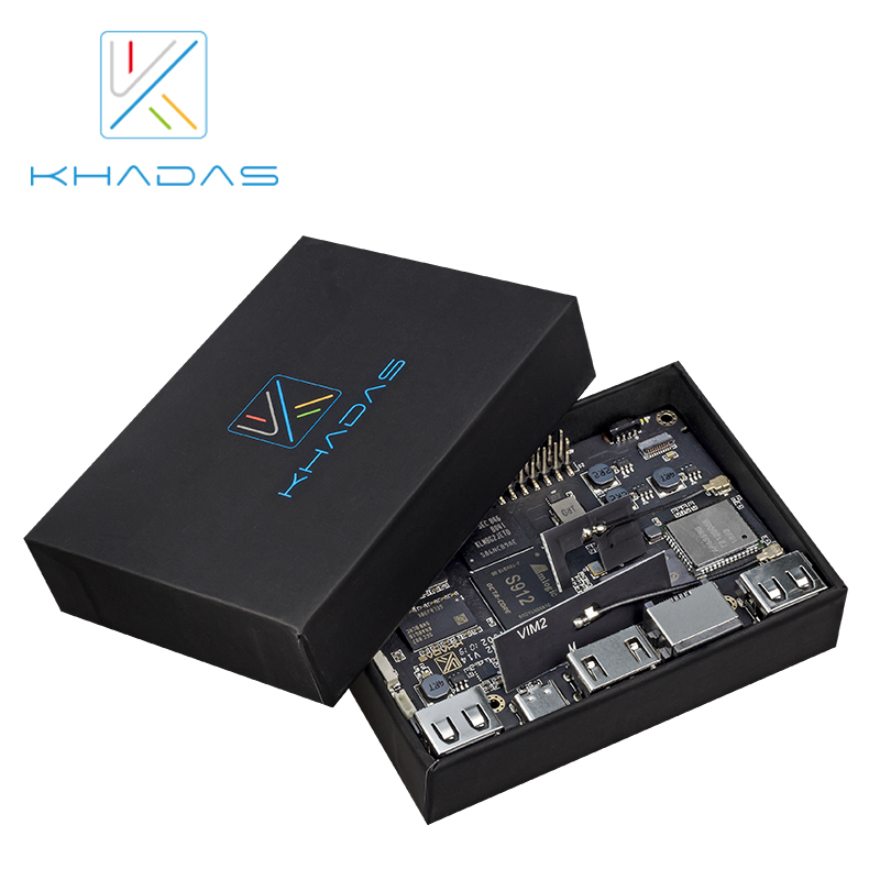 Image 3 - Khadas VIM2 Basic Powerful Single Board Computer Octa Core with MIMOx2 WiFi AP6356S WOL Amlogic S912 DIY Box-in Demo Board from Computer & Office