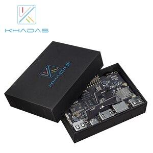 Image 3 - Khadas VIM2 الأساسية قوية لوحة كمبيوتر واحدة ثماني النواة مع MIMOx2 واي فاي AP6356S WOL Amlogic S912 لتقوم بها بنفسك صندوق