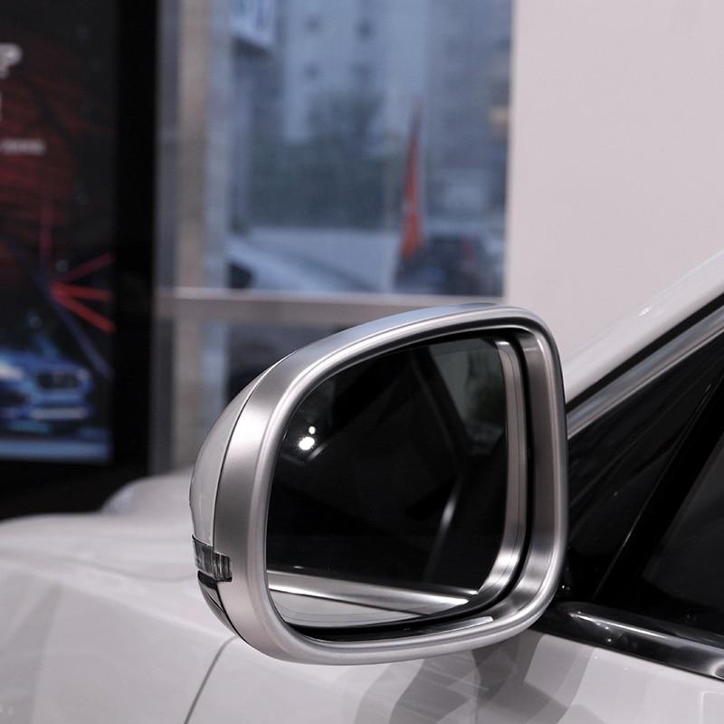 Car Side Wing Rearview Mirror Frame Cover Tirm For Jaguar XE XEL XF XFL XJ XJL
