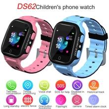 DS62 Children'S Phone Watch Two-Way Conversation Smart Watch For Positioning Intelligent Power Saving Watch Pink Blue wokka watch gw200s pink