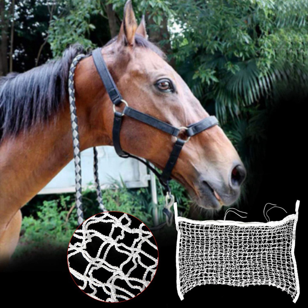 Ultra Slow Feed Hay Net Horse Pony Cattle Cow Feeder Net Mesh Hanging Bag