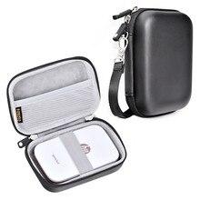 Fosotoポータブルケースシェルカバー旅行のストレージキャリングバッグポラロイドジップ携帯プリンタhpスプロケットポータブルフォトプリンタ