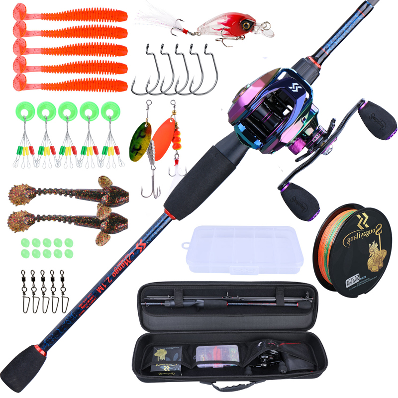 Fishing Rod and Reel 5 Section Travel Set.  Free shipping 2