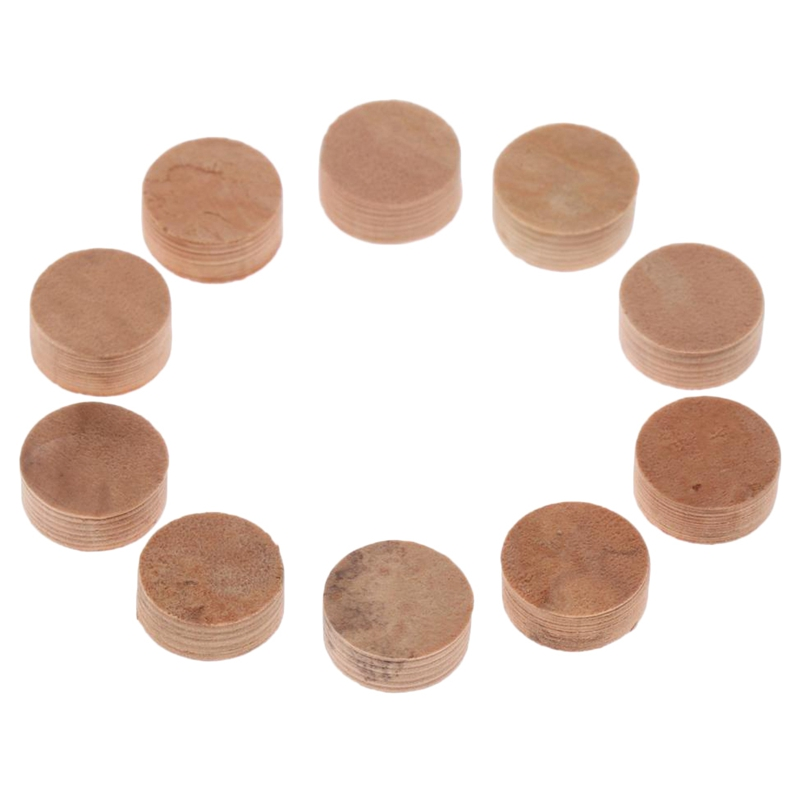 Fashion Style 10pcs Water Key Water Key Spit Valve Cork Pad For Trumpet Trombone Repair Accessories Diameter 9mm Thickness 4mm