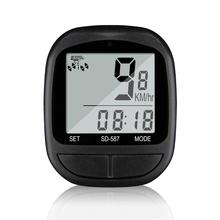 Bike Speed Meter Digital Bike Computer Multifunction Waterproof Sports Sensors Bicycle Computer Speedometer Odometer Stopwatch new arrival odometer bike meter speedometer digital lcd bicycle computer clock stopwatch
