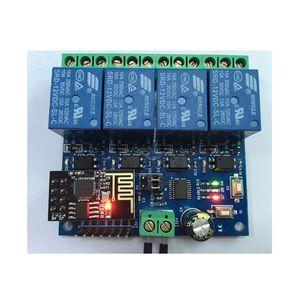 Image 5 - DC 12V ESP8266 & ESP 01 WIFI Module Relay 4 Kênh Dành Cho Nhà Thông Minh Thông Minh Đồ Nội Thất