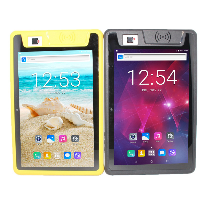 10,1 дюймов 4G LTE телефонный звонок MTk6737 2G + 16G промышленный IP66 водонепроницаемый Прочный планшетный ПК телефон Android 7,0