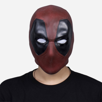Deadpool Mask Cosplay Superhero Anime Latex Face Masques Halloween Costume Props Helmet Party Masquerade Mascarillas iron man helmet mask led light cosplay ironman masks superhero weapons halloween party costume hood masque masquerade