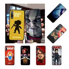 цена на NBDRUICAI HORROR CURSE OF CHUCKY CHILD'S PLAY Bling Cute Phone Case for Huawei Honor 20 10 9 8 8x 8c 9x 7c 7a  Lite view