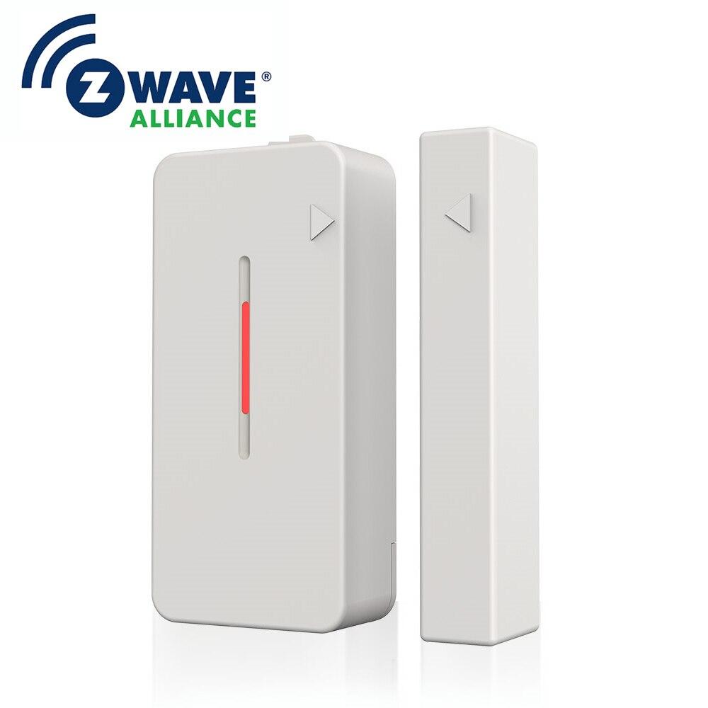 Z-Wave Magnetic Sensor Wireless Door Window Alarm System Wave Smart Home For Home Security Wifi Door Open Switch Detector