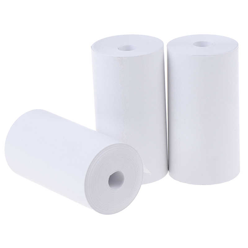 1 rollo de papel de impresión térmica 57x30mm ideal para máquinas POS de impresora fotográfica