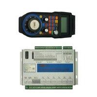 4/6 achse Mach3 Motion control karte 4/6 Achse USB Ethernet Port Wireless handrad für diy CNC gravur Maschine