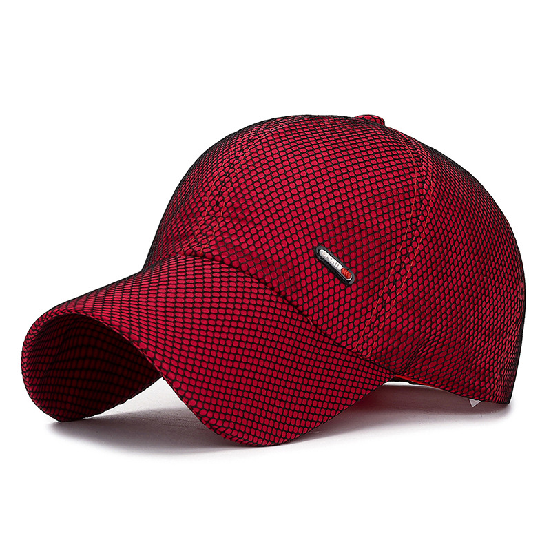 Spring Summer Breathable Mesh Baseball Cap Gorras Para Hombre Men's Cap Sport Hats Woman Bonnet Femme Casquette Homme Wholesale