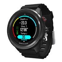 NORTH EDGE-reloj inteligente deportivo para hombre, con control del ritmo cardíaco, seguidor de actividad GPS de Fitness, para IOS y Android