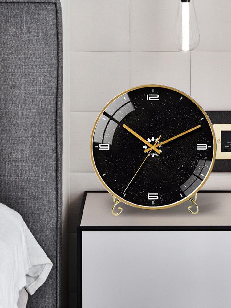 Table horloge Stander Nordi décoration afficheur de bureau maison horloges salon muet minimaliste Design moderne silencieux montres - 5