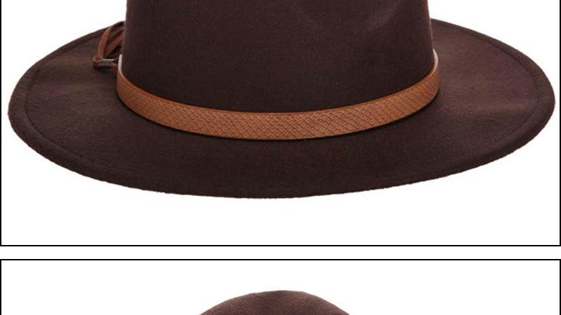 Горячая мода шерстяная шляпа зимняя женская мужская фетровая шляпа широкополый цилиндр шляпы женские винтажные большие Sombrero Джаз открытый кости