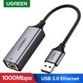 Ugreen USB Ethernet Adapter USB 3,0 2,0 Netzwerk Karte zu RJ45 Lan für Windows 10 Xiaomi Mi Box 3 Nintend schalter Ethernet USB