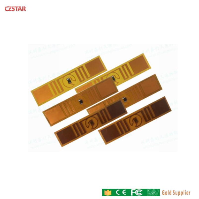 Free Shipping Rfid Tag For High Temperature Uhf Long Read Range Passive FPC Dry Wet Inlay Sticker For Cloth Lanudry Tag Towel