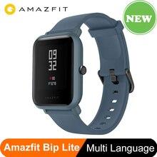 AMAZFIT BIP LITE Version mondiale Huami montre intelligente 45 jours dautonomie nouveauté de fréquence cardiaque étanche professionnelle