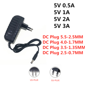 AC / DC Adapter DC 5V 0.5A 1A 2A 2.5A 3A AC 100-240V Converter power Adapter 5 V Volt 1000MA Power Supply Charger 5V 3A