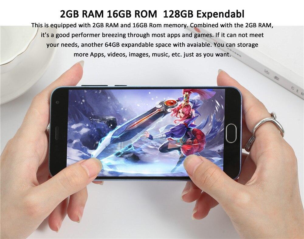 2GB RAM 16GB ROM  128GB Expendabl
