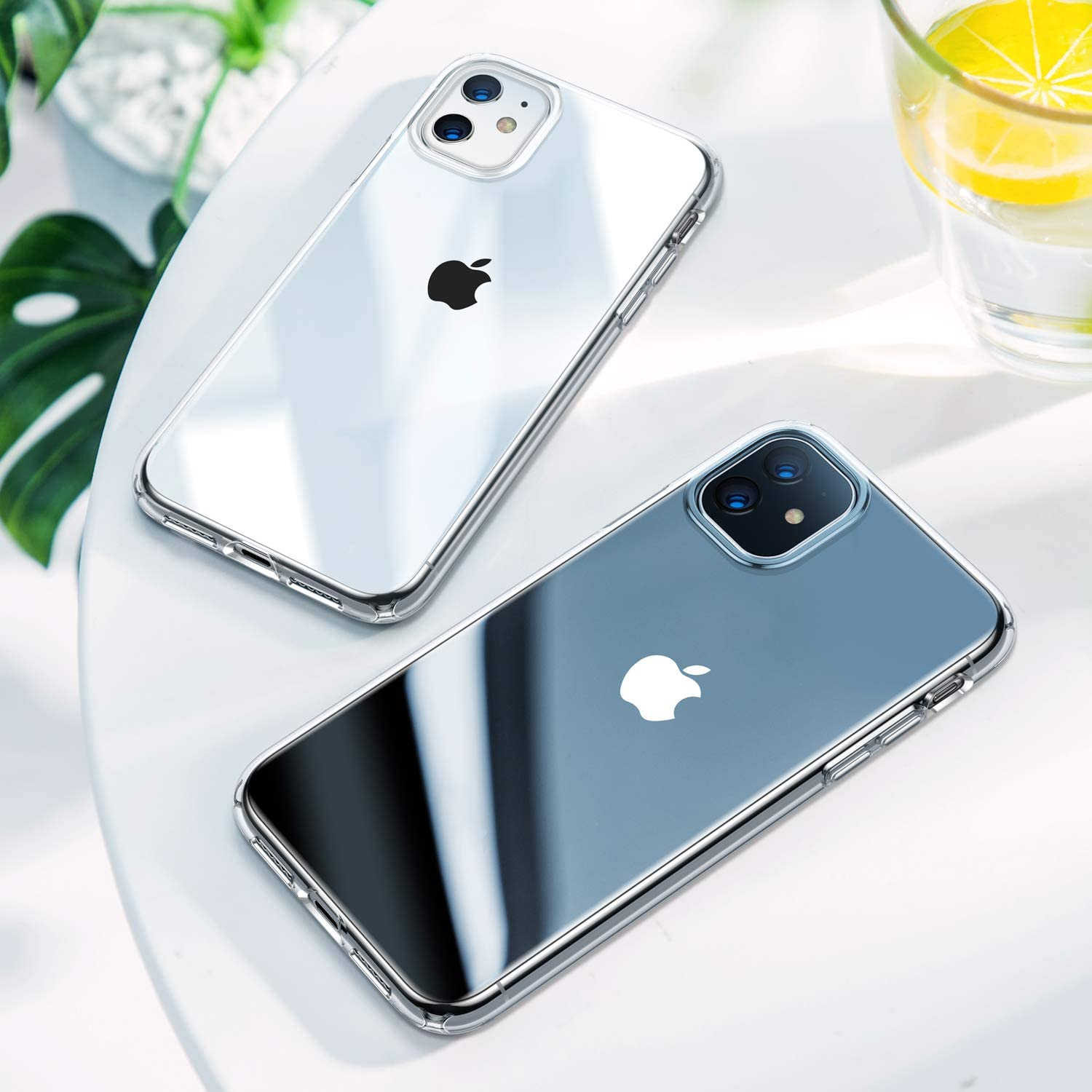 For iPhone XR 11 SE 2020 Case Crystal Clear Phone Case for iPhone SE 8 7 6s 6 5s 11 Pro Max Xs Max Case TPU Shockproof Cover