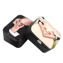 Portable Small Travel Jewelry Box Bracelet Necklace Organizer Container Ring Earrings Jewellery Storage Boxes