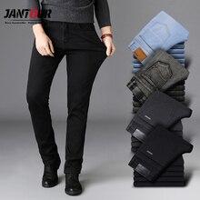 Hoge Kwaliteit Zwart Grijs Merken Jeans Broek Mannen Kleding Elasticiteit Skinny Straight Jean Klassieke Denim Casual Broek Mannelijke 28 40