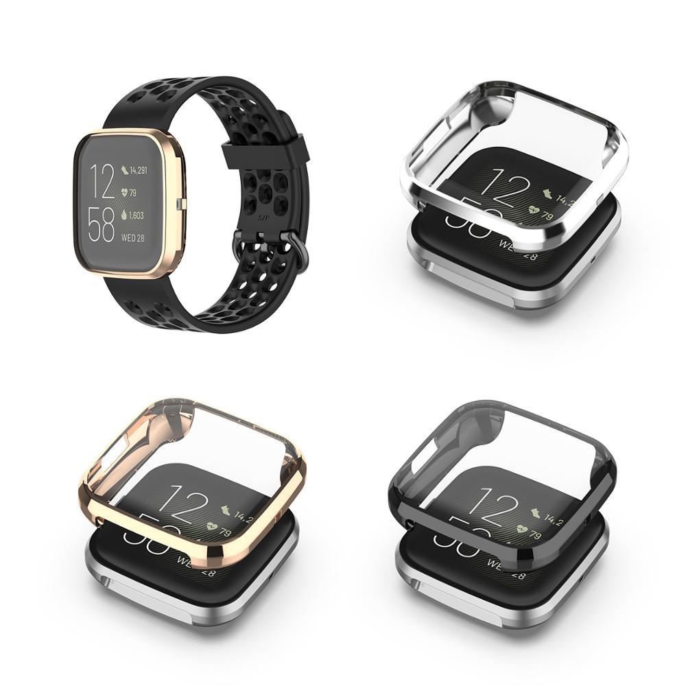 Recubrimiento de TPU funda protectora para reloj Fitbit inversa 2 funda de repuesto para reloj inteligente Fitbit inversa 2 accesorios